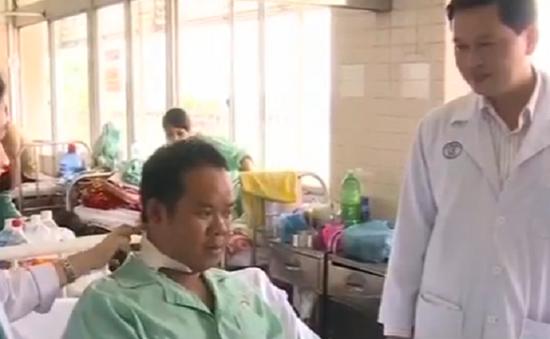 Nạn nhân bị Trung tá người Campuchia bắn đã qua cơn nguy kịch
