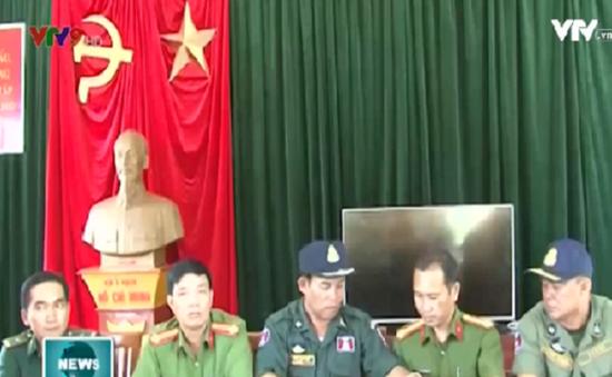 Kiên Giang: Trao trả 6 công dân Campuchia bị giữ trái pháp luật