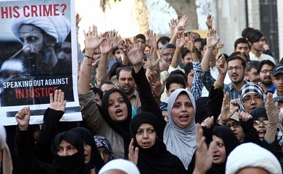 Căng thẳng leo thang sau vụ Saudi Arabia xử tử giáo sĩ Nimr al-Nimr