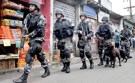 Brazil tăng cường an ninh trước thềm Olympics