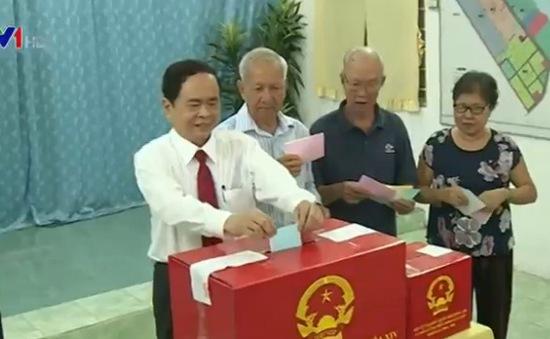 Tưng bừng ngày hội bầu cử tại ĐBSCL