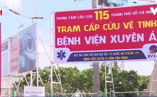TP.HCM mở trạm cấp cứu vệ tinh ở các cửa ngõ