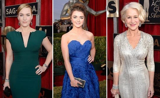 Những bộ cánh biến các sao thành nữ hoàng trên thảm đỏ SAG