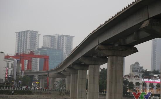 Hoàn tất phần hạ tầng cơ bản tuyến đường sắt trên cao Cát Linh – Hà Đông