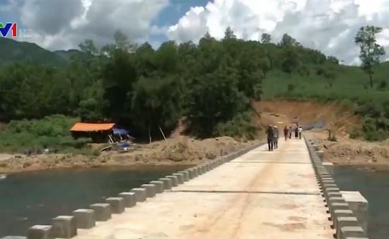 Quảng Ngãi: Hơn 1.000 người dân xã Sơn Bao sẽ không phải đu dây vượt sông