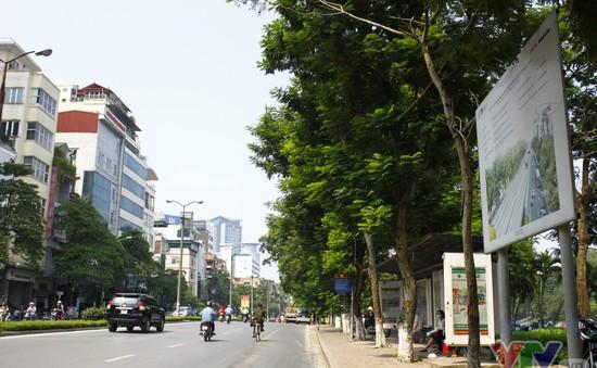 Tuyến tàu Nhổn - ga Hà Nội chạy dọc phố Kim Mã trước khi đi ngầm