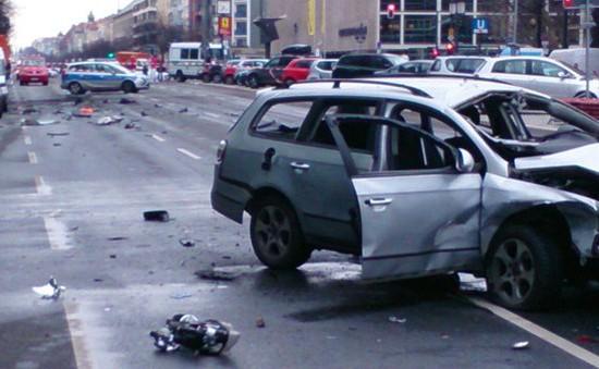 Nổ xe tại Berlin: Chưa có dấu hiệu liên quan tới khủng bố