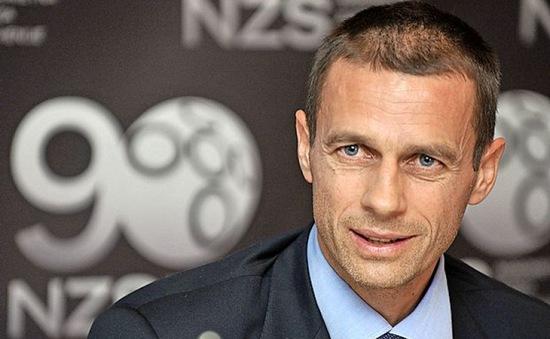 Aleksander Ceferin chính thức trở thành chủ tịch UEFA