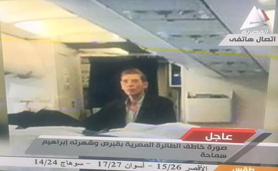 Kẻ khống chế máy bay Ai Cập đòi gửi thư tới một cô gái