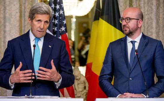 Ngoại trưởng Mỹ hội kiến Thủ tướng Bỉ