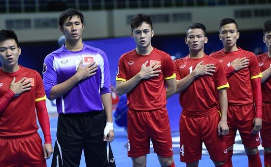 Sáng mai (12/9), ĐT Futsal Việt Nam ra quân tại VCK World Cup 2016