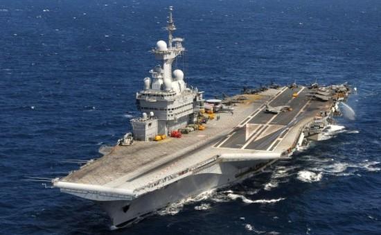 Pháp đưa tàu sân bay Charles de Gaulle tới Trung Đông
