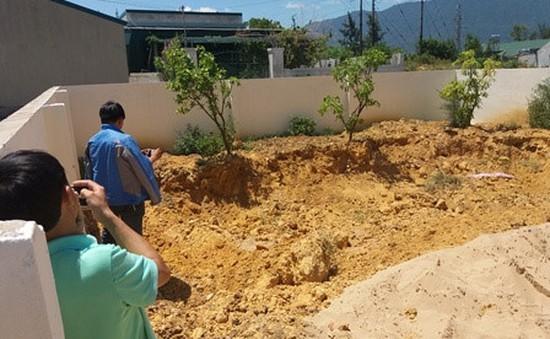 Lại phát hiện 10 tấn chất thải Formosa chôn ở công viên