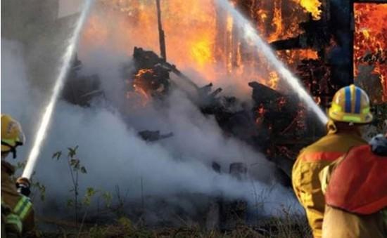 Canada: Bệnh đường ruột lan rộng tại trung tâm tạm trú do hỏa hoạn