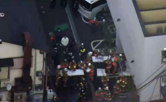 Cháy lớn tại Shinjuku (Nhật Bản), 500 toà nhà bị cắt điện