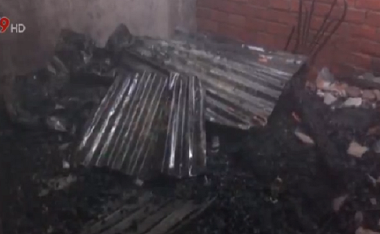 Cháy lớn tại An Giang gây thiệt hại 2 căn nhà