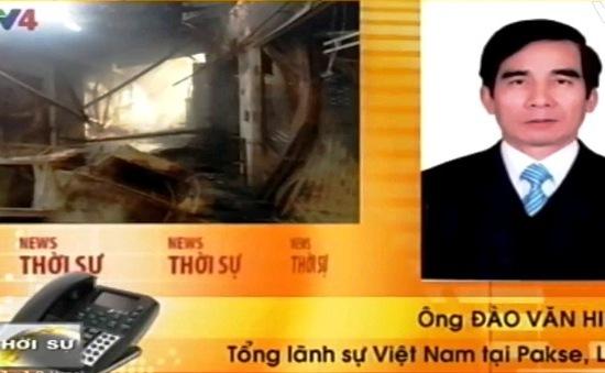 Vụ cháy chợ người Việt tại Lào: Thiệt hại khoảng 60 tỷ Kip