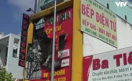 Cháy cửa hàng bếp từ tại TP.HCM, 4 người tử vong