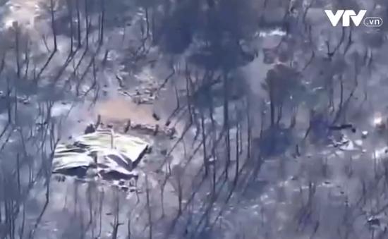 Cháy rừng dữ dội tại Mỹ, gần 7 hecta rừng bị phá hủy