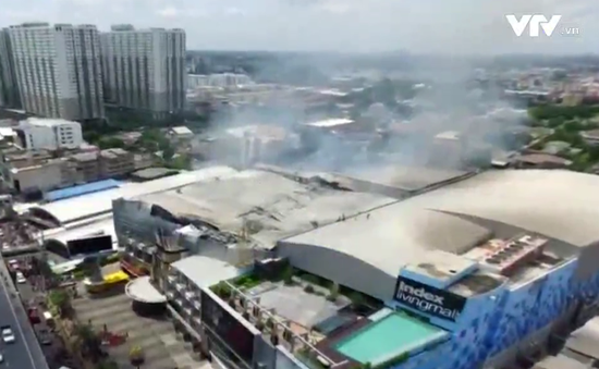 Cháy lớn tổ hợp chiếu phim tại Bangkok, Thái Lan