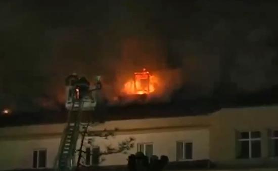 Cháy một trong những bệnh viện lớn nhất Thổ Nhĩ Kỳ