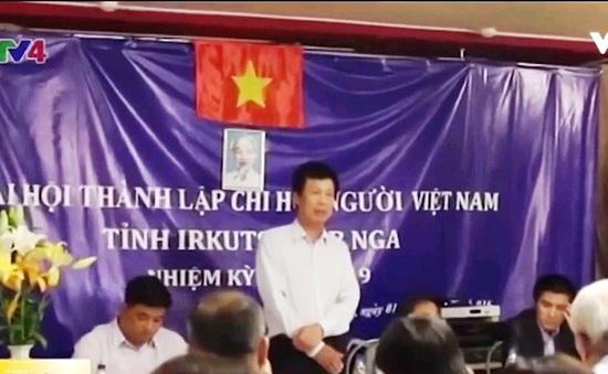 Thành lập Chi hội người Việt tại Irkutsk, LB Nga