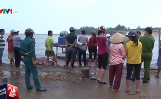 Vụ chìm tàu ở đảo Cồn Cỏ: Tàu chở vật liệu xây dựng chuyển sang chở khách