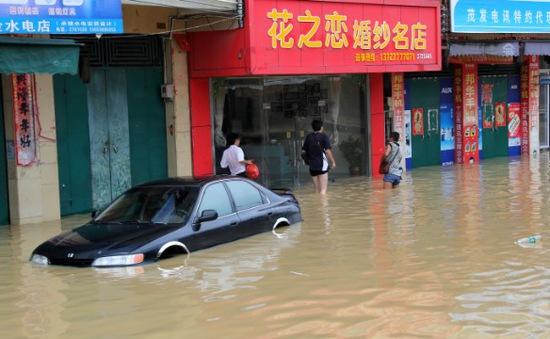 Bão Mirinae đổ bộ vào Trung Quốc, gây mưa to gió lớn
