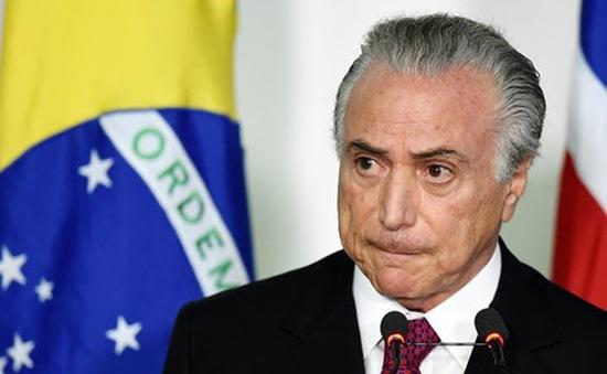 Hạ viện Brazil bác bỏ cáo buộc tham nhũng đối với Tổng thống Temer