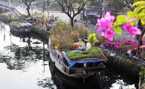Sức hấp dẫn của chợ hoa trên bến dưới thuyền tại TP.HCM