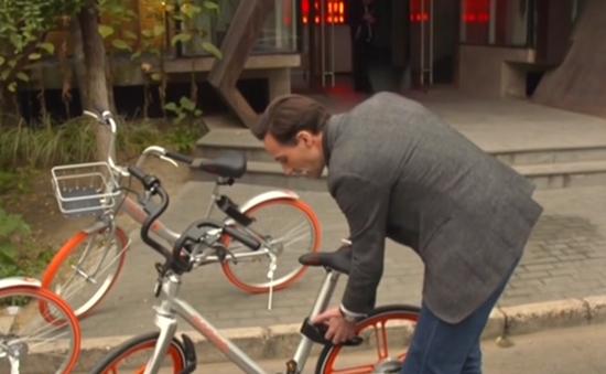 """Bùng nổ dịch vụ """"thuê xe đạp"""" ở Trung Quốc"""