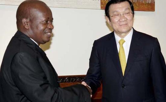 Chủ tịch nước hội kiến Chủ tịch Quốc hội Tanzania