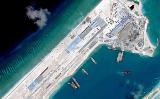 Philippines lên án hành động tại đá Chữ Thập của Trung Quốc