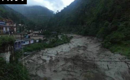 Lũ quét tại Ấn Độ, ít nhất 30 người thiệt mạng