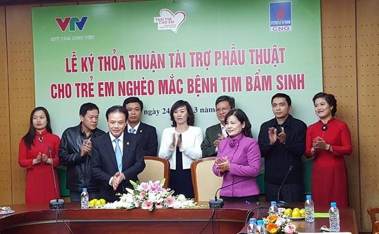 Công ty CNG Việt Nam ủng hộ gần 1 tỷ đồng cho trẻ mắc bệnh tim bẩm sinh