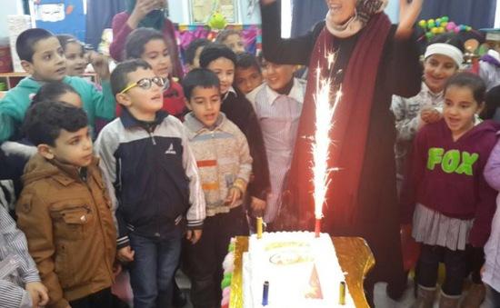 Nữ giáo viên Palestine giành giải Giáo viên toàn cầu