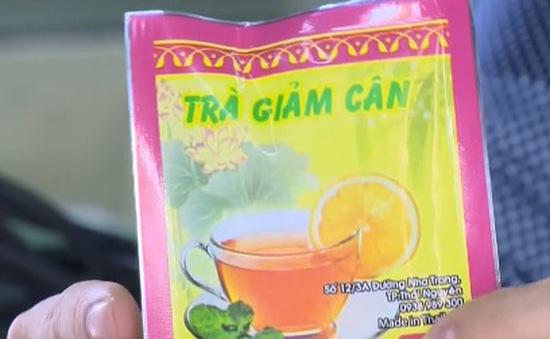 """Chất gây nghiện cỏ Mỹ """"núp bóng"""" trà giảm cân"""