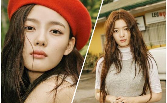 Tiểu tiên nữ xứ Hàn Kim Yoo Jung khoe vẻ đẹp kiêu sa