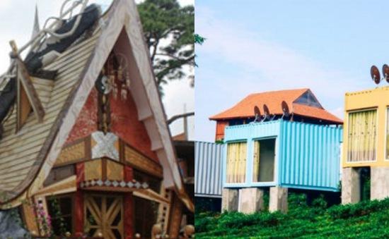 Khám phá ngôi nhà kỳ quái và khách sạn container khó tin tại Việt Nam