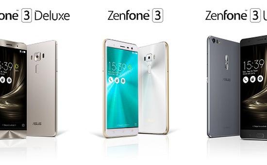 ASUS chính thức công bố giá dòng ZenFone 3 tại Việt Nam