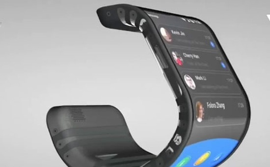 Công nghệ uốn cong màn hình bùng nổ