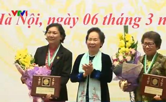 Hai nhà khoa học nữ của Việt Nam nhận Giải thưởng Kovalevskaia 2015