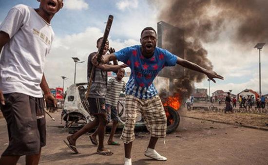 Congo: Số người chết trong vụ bạo loạn tăng lên 17 người