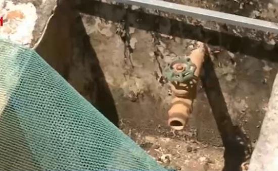 Công trình nước sạch tiền tỷ bị bỏ hoang