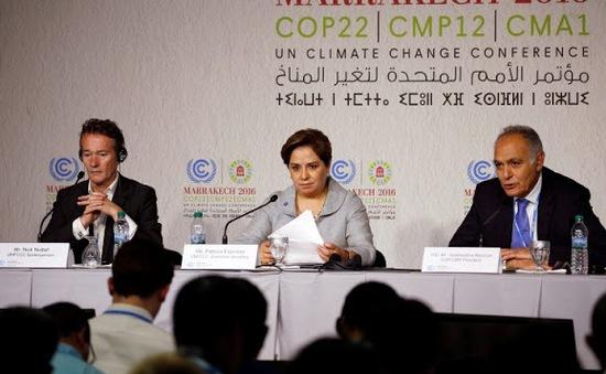 COP22 ra Tuyên bố hành động Marrakech
