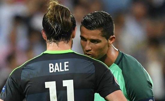 """Bale hết lời ca ngợi """"đàn anh"""" Ronaldo sau trận bán kết EURO 2016"""