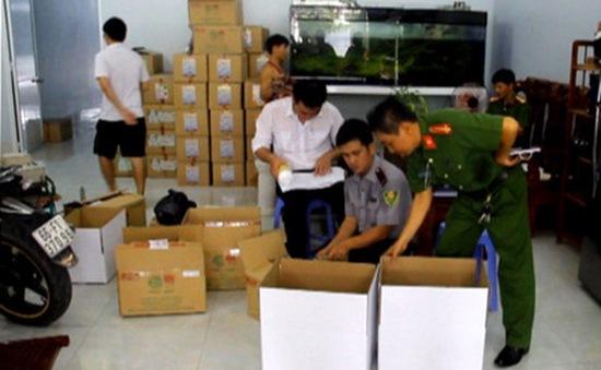 Phát hiện cơ sở sản xuất thuốc thú y thủy sản trái phép tại Đồng Tháp