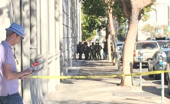 Sơ tán vì xuất hiện đối tượng nghi là tay súng ở San Francisco (Mỹ)