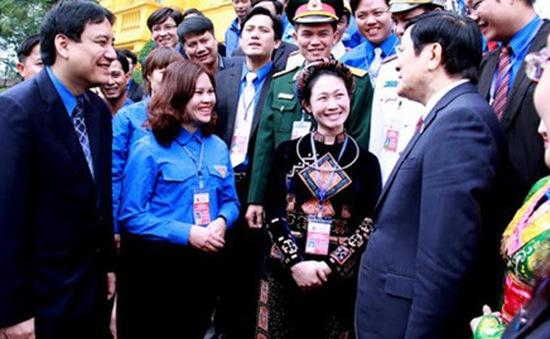 Chủ tịch nước gặp cán bộ đoàn tiêu biểu