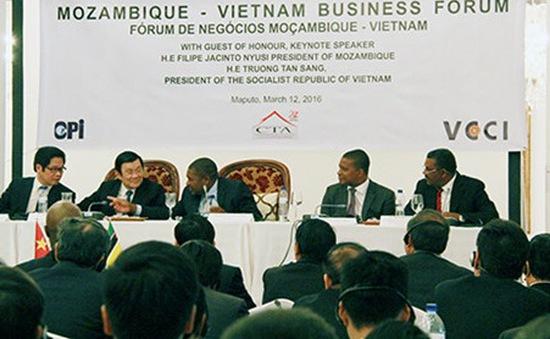 Chủ tịch nước dự Diễn đàn Doanh nghiệp Việt Nam- Mozambique
